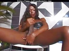 Suzanna Holmes And Her Amazing Big Black Dick