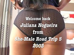 Tgirl cop Juliana have erotic anal sex