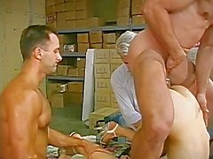 Asian She-Male Gangbang - Scene 1