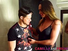 Camilla Jolie Fucks a Guys Ass