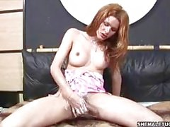 Sabrina de Paula amateur solo with cream