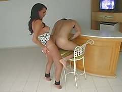 Pretty Marcela dominates her lover
