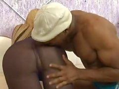 Vivian Porto - Ebony fucker for a titty tranny