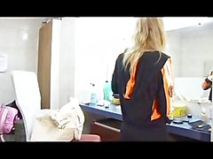 BLONDES A TRANSSEXUAL AFFAIR WITH GIRLS - Scene 1