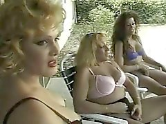 tranny gangbang nasty girl on swimming pool
